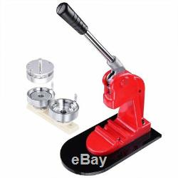 58mm Pin Button Badge Maker Machine with 1000 Piece Buttons Part, Circle Cutter