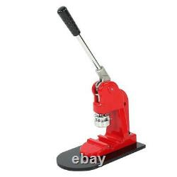 5.8cm Badge Punch Press Maker Machine With 1000 Circle Button Cutter Parts C