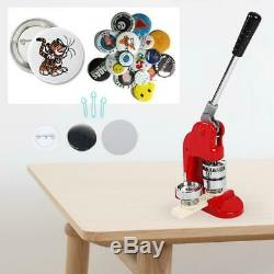 75mm 3'' Badge Button Maker Punch Press Pin Machine Making Kit Die Mould Cutter