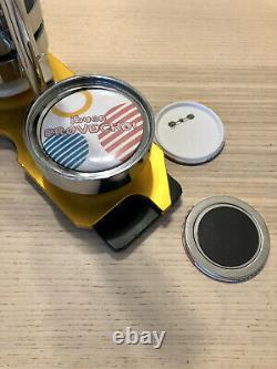 75mm 3'' Vevor Badge Button Maker Bundle + 200 Buttons Circle Badge Punch Press