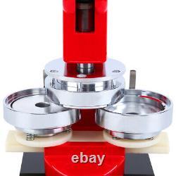 75mm Badge Button Pin Maker Machine Die Mould 500 Sets Blank DIY Parts Supplies