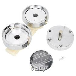 75mm High Quality Mold Button Maker DIY Badge Making Machine Accessory NEW