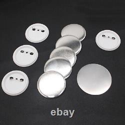 75mm Rotate Badge Button Maker 300 Buttons Circle Badge Punch Press Machine USA