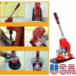 A+25mm Badge Button Maker Punch Press Machine Supplies+1,000 Parts+Circle Cutter