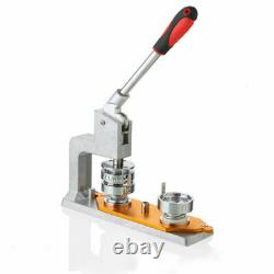 Aluminium Alloy Type Rotate Badge Punch Press Machine Button Pin Maker, Mould