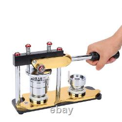 Aluminum Alloy 32mm Rotate Button Machines Manual Badge Makers For DIY