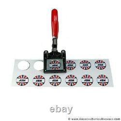 American Button Machines 1.5 Button Badge Making Machine Maker + Button Cutter