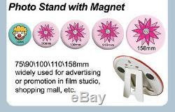 BIG SALE1-1/4 32mm Kit! Badge Button Maker Machine+100 Pin Badge +Circle Cutter