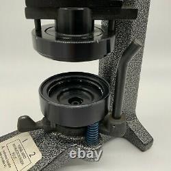 Badge-A-Matic 1 Button Maker Machine 2-1/4 Inch 2.25 Badge-A-Minit Manual Press
