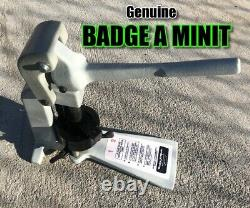 Badge A Matic Minit minute semi-automatic Button Badge Maker 2 1/4 BUY it NOW