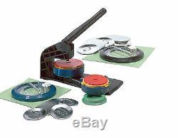 Badge-A-Minit 2 1/4 & 3 Button Maker Bench Press Kit #1605