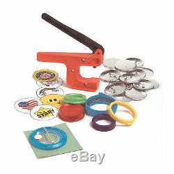 Badge-A-Minit 2 1/4 Button Maker Hand Press System #1080