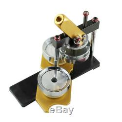 Badge Button Maker Machine Circle Cutter Metal Punch Tool Round 58mm Mold Tool