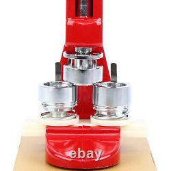 Badge Button Maker Making Machine Die Mold Punch Press Circle Cutter 500PCS 58MM