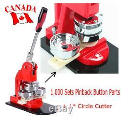 Badge Machine Button Pin Maker Badge Maker Printing Machine Light Weight CA SHIP