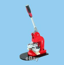 Badge Maker Machine Interchangeable Button +Circle Cutter+1000 Pin Back Tool CA