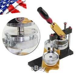 Badge and Button Maker Machine Button Making Supplies Mould Size 58mm -USA