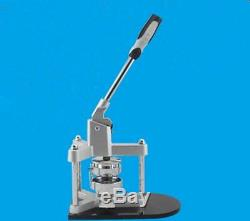 Brand New 58mm Aluminum Badge/Button Maker Machine With Plastic Slide Rails