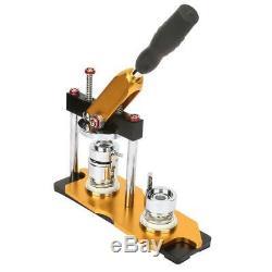 Button Maker Badge Punch Press Machine 1/1.25/2.25 Cutter Craft DIY