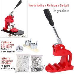 Button Maker Badge Punch Press Machine/ 1 1.25 2.28 1000 Parts/Circle Cutter
