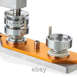 Button Maker Badge Punch Press Machine 75mm Die Mould +300 Buttons