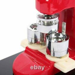 Button Maker Badge Punch Press Machine Free 1000 Pieces Circle Cutter 1 25mm