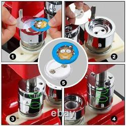 Button Maker Machine 37mm 1.5 inch Button Badge Maker Pins Punch Press Machine