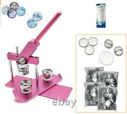 Button maker badge punch press machine