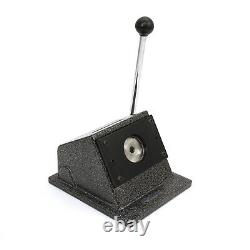 Buttonmaschine Badgemaker Buttonpresse Buttonrohlinge Buttons 25mm mit Schneider