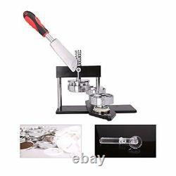CO-Z Button Badge Maker Machine Punch Press Pin Maker Multiple Die Moulds 600