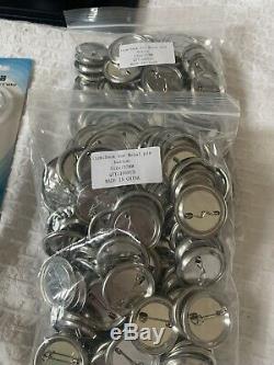ChiButtons Button Maker Kit 37mm (1 1/2) Badge Press Machine-B400 + 200 Buttons