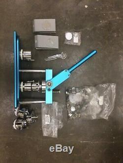 ChiButtons Button Maker Kit 37mm (1.5)+ 25mm (1) Badge Press Machine-B400