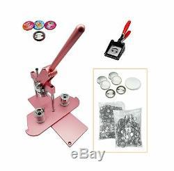 ChiButtons (KIT) 25mm(1) Pro Badge Machine Button Maker-B400 + Mould + 500 P