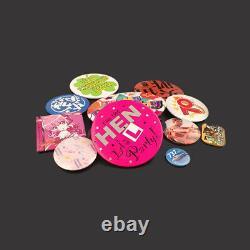 DIY Badge Button Maker Supplies/Parts Metal Pin Back 25-75mm Round 1000Set
