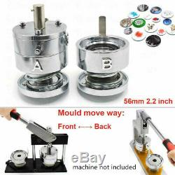 DIY Badge Punching Die Mould Round Mold Interchangeable For Button Maker Machine