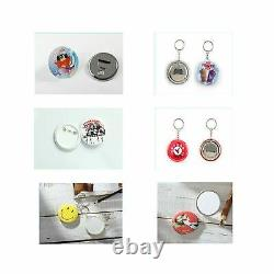 Dawei Badge Punching Die Round Button Mold With ABS Slide Badge Maker Part Co