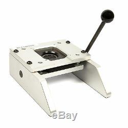 G SERIES 25mm DESKTOP BADGE CUTTER- BUTTON PIN MAKER PHOTO INSERT BADGES