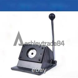 Graphic Special Button/Card/Badge Maker Manual Round Punch Die Cutter 58mm 75mm
