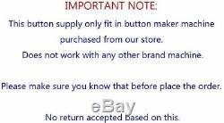 Heart Shape 53x57.5mm Interchangeable Die Mould for Badge Button Maker HOT SALE