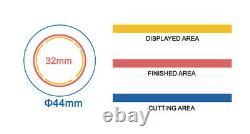 KIT 32mm (1.25) Badge Button Maker-1+Round Mould+200 Pin Parts+HandlingCutter