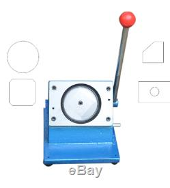 Manual Round 58mm Graphic Punch Die Cutter Badge/Button Maker