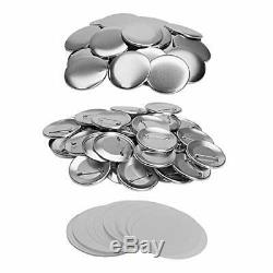 Metal PIN Back Button Parts 500pcs Additional Extra Button Maker Badge