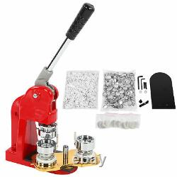 New 1.25 Button Maker Machine Badge Press Machine with 1000 Buttons Accessory Kit