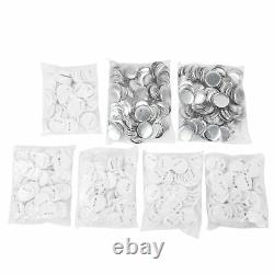 New 58mm/2.28 Badge Button Maker Machine DIY Round Pin Badges & 500pcs Buttons