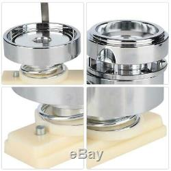 New Aluminum alloy Badge Pin Making Mould Button Maker Punch Press Tool 58mm