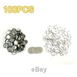 Pro Badge Maker Machine+2.28Round Die Mould+2.28Pin Badge Button Parts for DIY