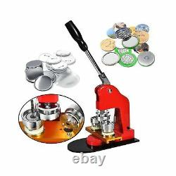 TOAUTO Button Badge Maker 37mm 1.5 Inch Button Badge Kit Pins Punch Press Mac