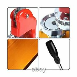 TOAUTO Button Badge Maker 37mm 1.5 Inch Button Punch Press