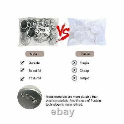 TWSOUL Installation-Free Button Badge Maker Machine, 58mm (2.25in) DIY Badge