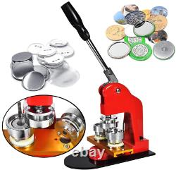 Toauto Button Badge Maker 37Mm 1.5 Inch Button Badge Kit Pins Punch Press Machin